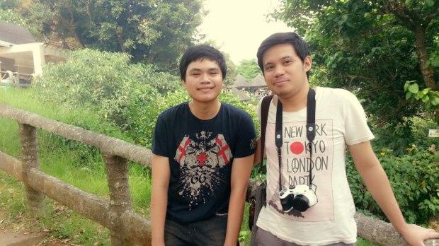 Buhbuh and I.