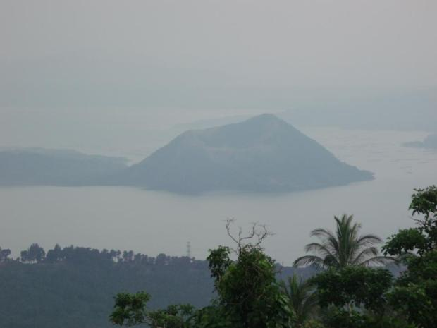 A view of the Taal Volcano, which is also included in the list of the 'decade volcanoes.'